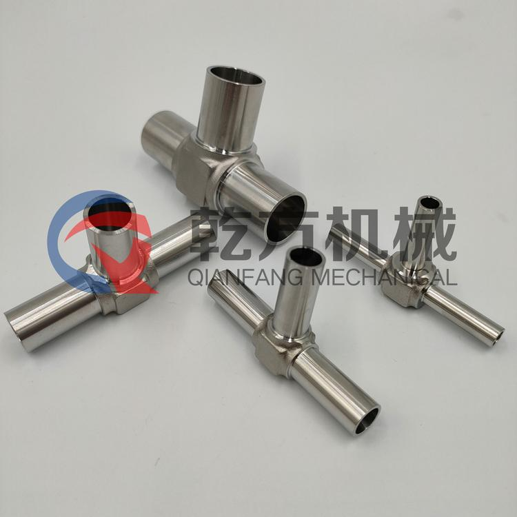 三通接頭/自動焊三通/氣路管接頭/不銹鋼三通管接頭廠家