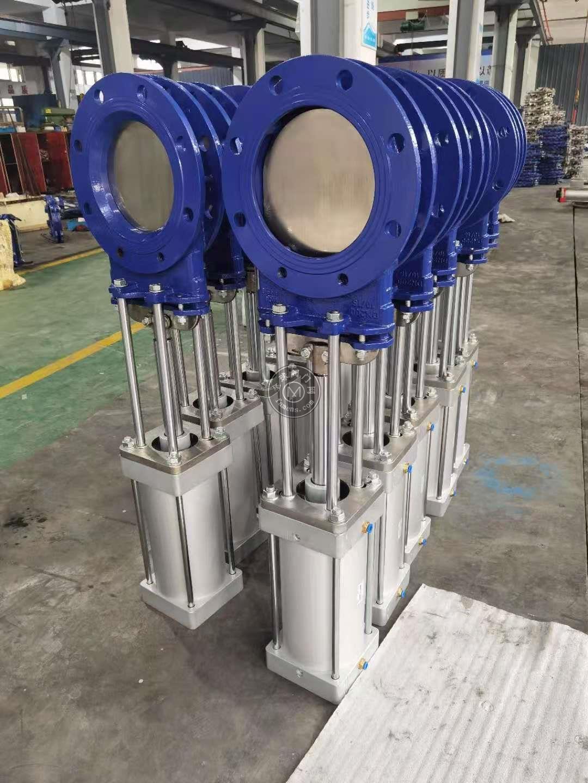 PZ673H-10C氣動鑄鋼刀閘閥,氣動插板閥,閘板閥