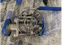 衛生級不銹鋼快裝三片式球閥