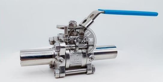 BA級加長自動焊三片式手動球閥