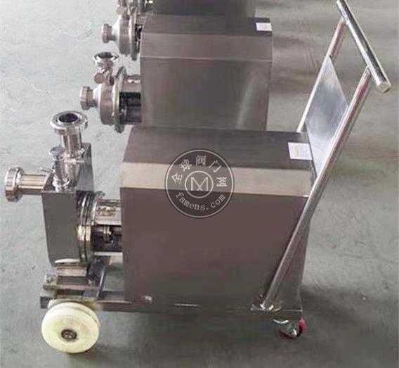 天耐衛生型自吸酒泵高壓泵