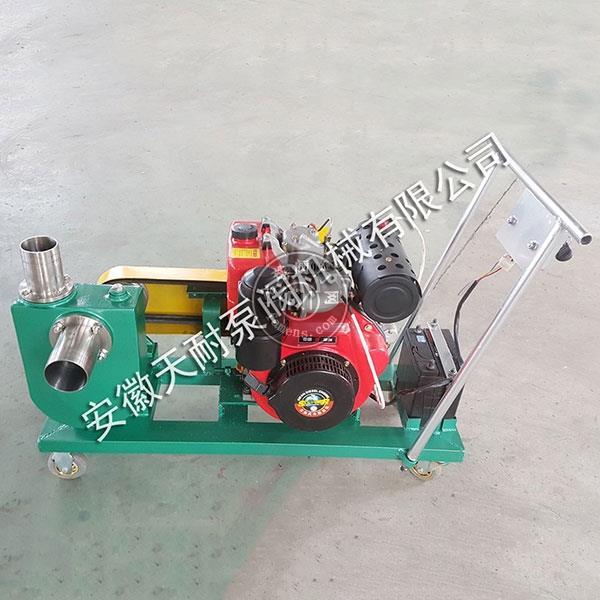 安徽天耐移動式汽油機自吸泵
