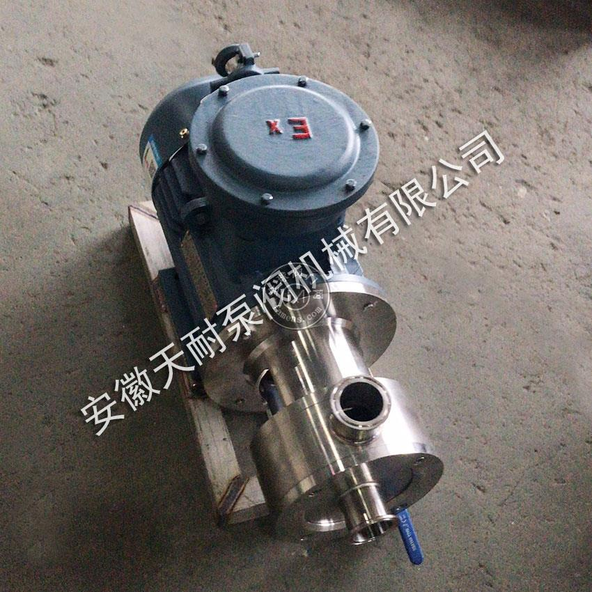 天耐供應衛生級管線式乳化泵
