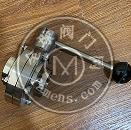 衛生級不銹鋼手動焊接蝶閥