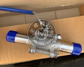 衛生級不銹鋼BA級三片式焊接球閥