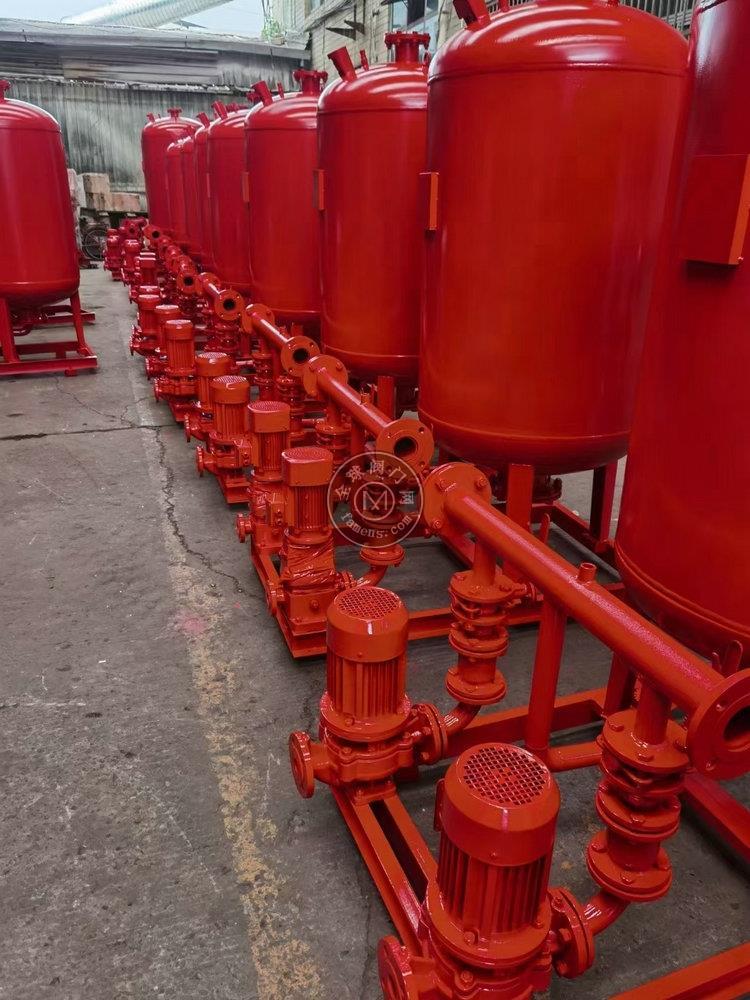 3C認證消防加壓泵 XBD-I管道式多級消防穩壓泵,選三利