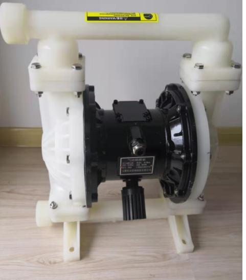 氣動隔膜泵的工作原理
