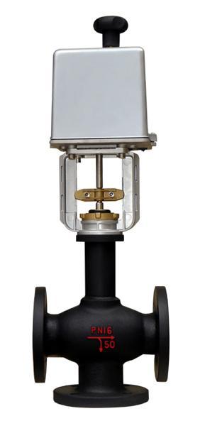 连接管电动三通调节阀(RA系列)