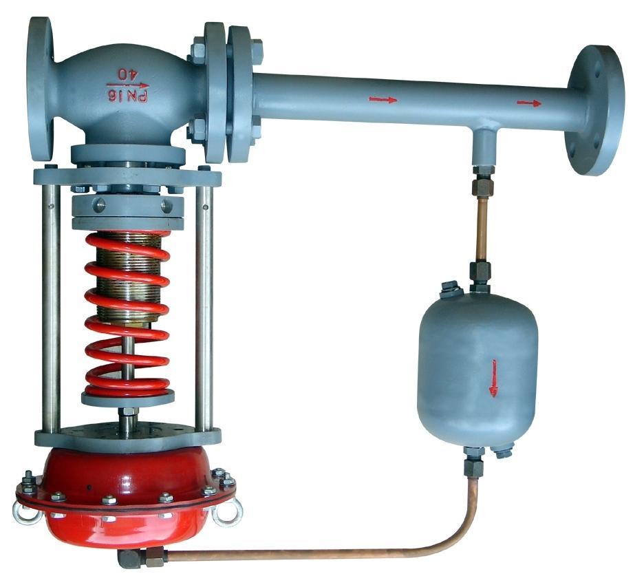 自力式压力调节阀(带冷凝器)