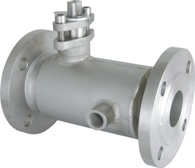 BQ41F缩径保温球阀(不锈钢保温球阀)