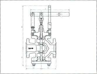 杠杆式蒸汽减压阀