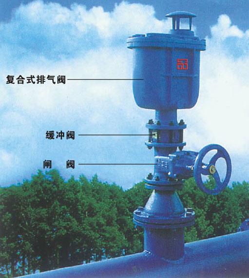 复合式排气阀