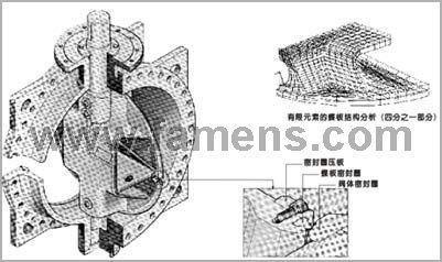 供应软密封结构、硬密封结构
