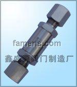卡套流量閥 焊接儀表閥 壓力表根閥 外螺紋球閥