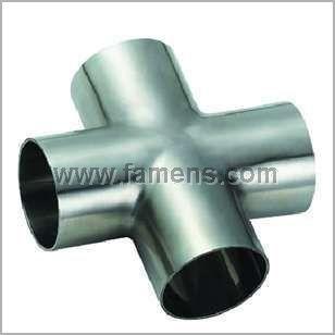 供应四通、三通、异径管、弯头、不锈钢管件