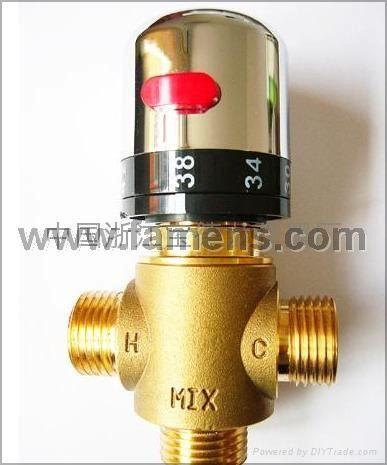 恒溫混水閥(進口感溫器)