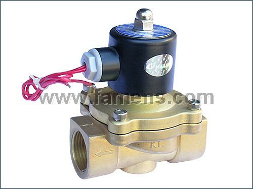 2W-250-25铜/不锈钢电磁阀(常闭型)