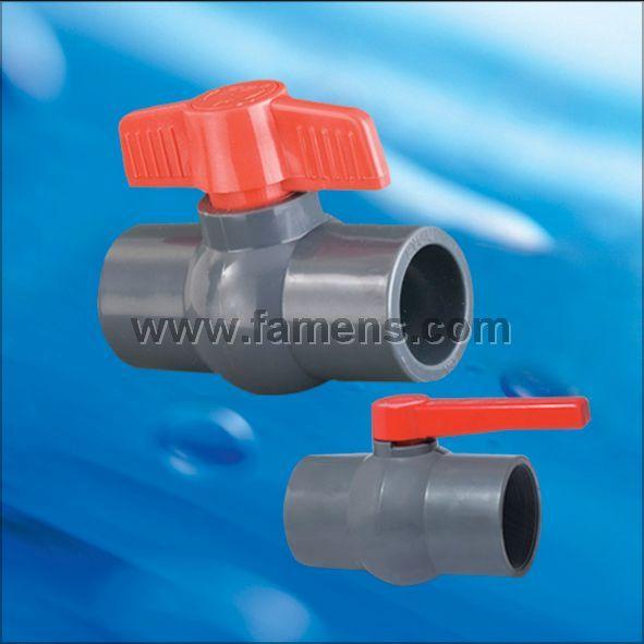 PVC球阀(插口、螺口)