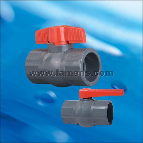 PVC八方球阀(插口、螺口)