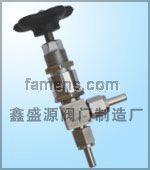 角式針型閥(J24H)