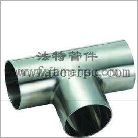 供应不锈钢三通 焊接等径三 异径三通
