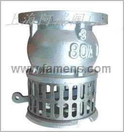 JIS-10K拉柄式鑄鐵底閥