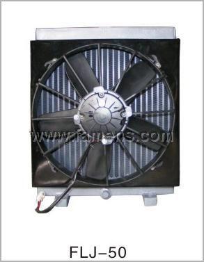 12V直流电机风扇油散热器