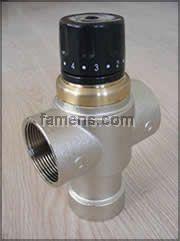 生产厂家供应大口径自动恒温混水阀DN40