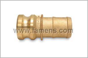 黄铜快速接头、管尾阳端接头、凸轮快速锁紧接头E型
