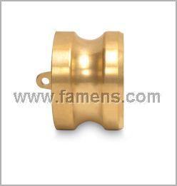 黄铜快速接头DP型1/2寸3/4寸快装凸轮锁紧堵头