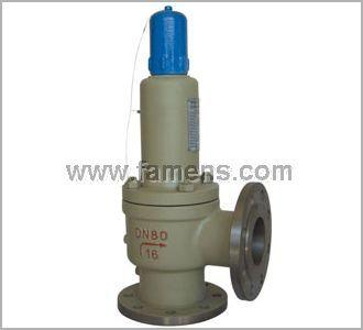 A41H-16/25/40C/P/R型弹簧微启封闭式安全阀
