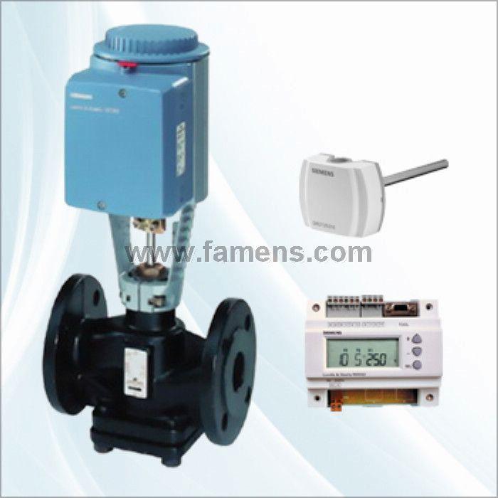 西门子电动减压阀、西门子蒸汽温控阀