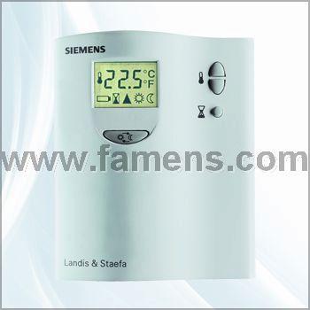 RDF系列西门子小液晶温控器-济南工达温控阀