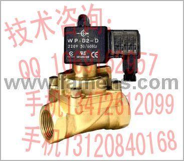 CS锻造铜阀体、耐高温(蒸汽等)电磁阀SA-15-G2-AC220V(DC24V)型,SA-15~50AF法兰型