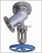 不锈钢下展式放料阀(HG5-89-2)