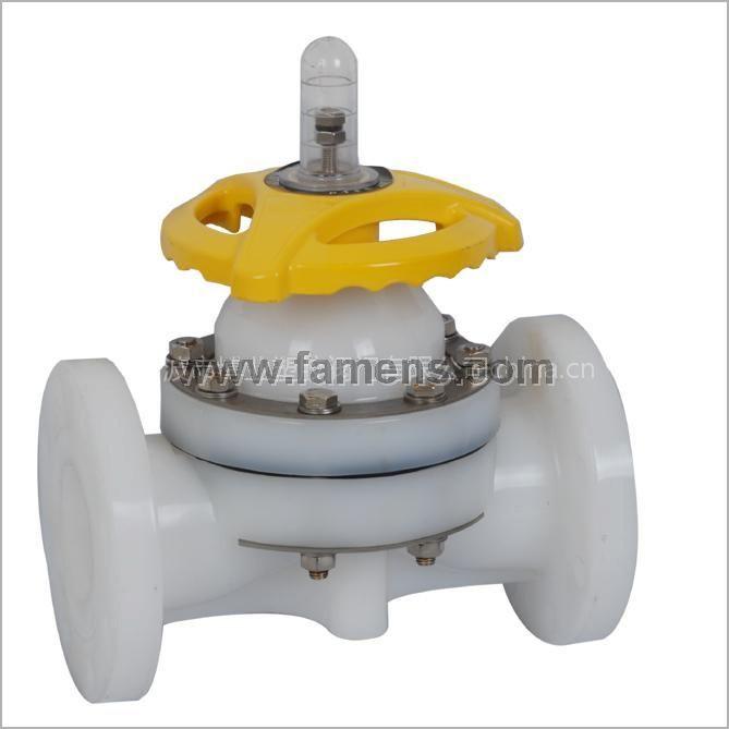 供应PVDF防腐隔膜阀 原厂生产 品质保证