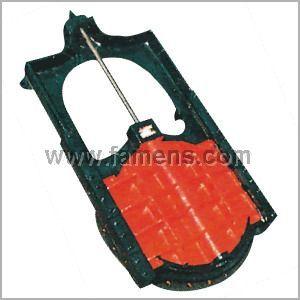 暗桿鑄鐵鑲銅閘門(滑板閥,閘板閥)