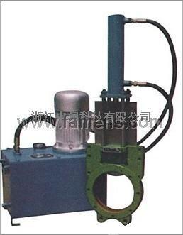 分体电液动浆液阀
