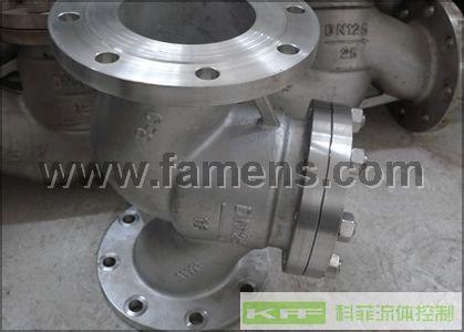 H41W不锈钢升降式止回阀/单向阀/逆止阀