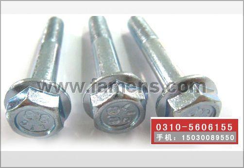 法兰螺栓,法兰螺丝,自带垫螺栓