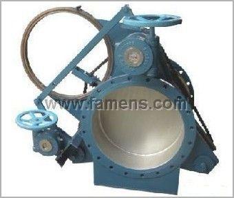 蝸輪式盲板閥F3L43C