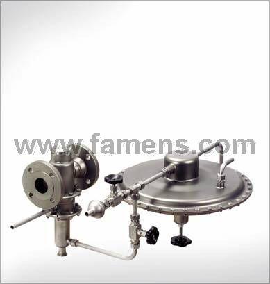 MANKENBERG先导式毫巴级减压阀组RP840