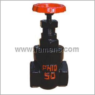 Z15T-10内螺纹暗杆楔式闸阀、闸阀