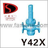 Y42X型直接作用弹簧薄膜式减压阀