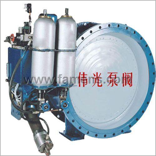 蓄能器式液控止回蝶阀+小水电专用液控蝶阀
