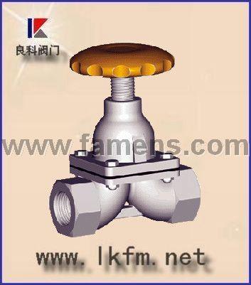 隔膜阀厂家:G11W内螺纹隔膜阀