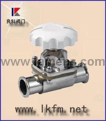 隔膜阀厂家:G49J-10卫生隔膜阀