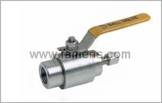 Q91SA异径测量管路球阀