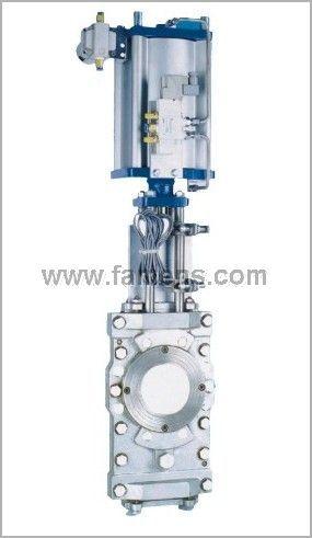 SCZ673F型气动插板阀