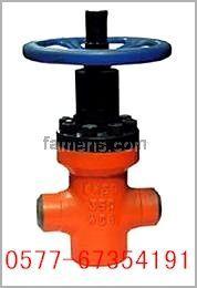 ZF63Y高壓注水對焊平板閘閥